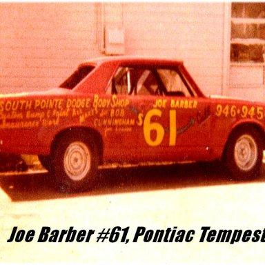 2. Joe Barber #61