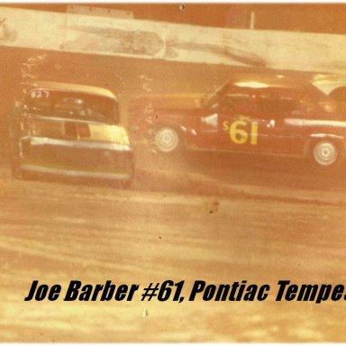 3. Joe Barber #61