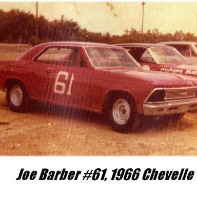 5. Joe Barber #61