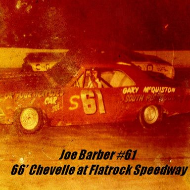 7. Joe Barber #61