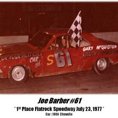8. Joe Barber #61