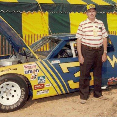 '81 Childress/Earnhardt Wrangler Pontiac Showcar