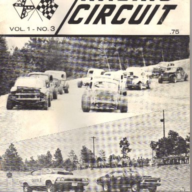 july 1970 issue of southern racing circuit