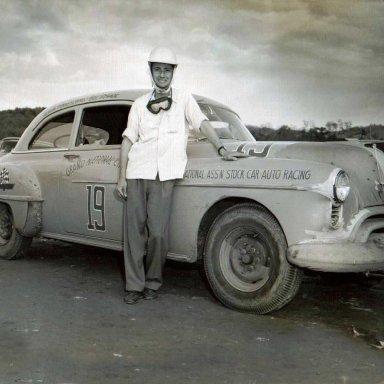 Bill Schade 51 Olds Rocket 88 Occoneechee or North Wilkesboro Speedway 1951