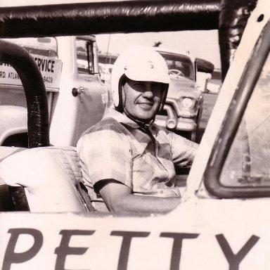 Lee Petty Ragtop Olds 88