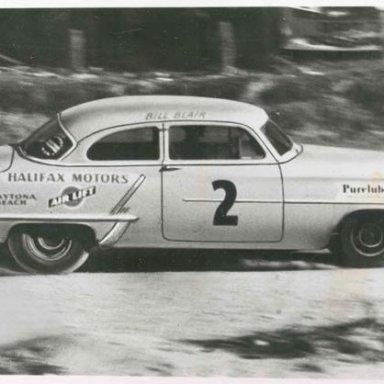 Bill Blair Olds 1953 Daytona Beach/Road Course