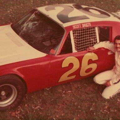 Scott Shults #26 USAC Camaro - 1975