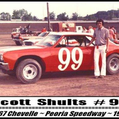 Scott Shults #99 - 1974