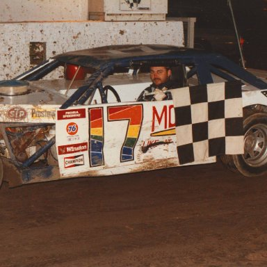 Scott Shults #17 IMCA Modified - 1989