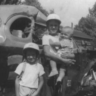 Scott Shults - Jim Shults & Steve Shults - My Brothers in 1953