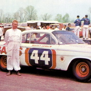 Whitey Gerken Chevy 62 vi-vi