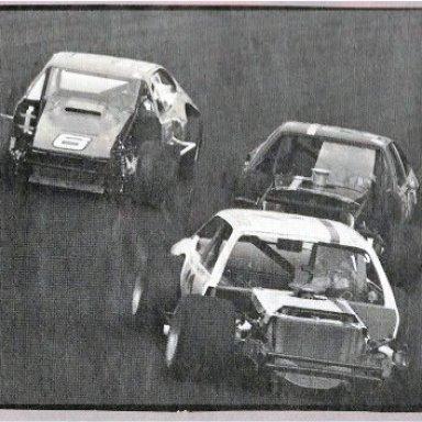 MT chasing Paul Radford at Martinsville...