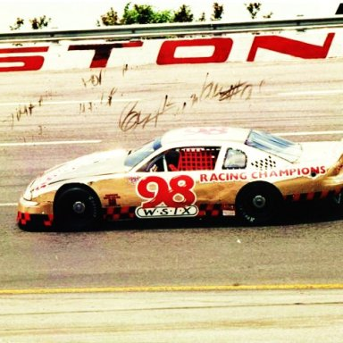 ROY BINKLEY'S GOLD CAR: 1998