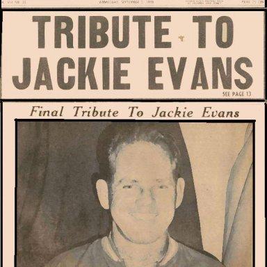 "Jackie ""77"" Evans The Miami Hurricane"