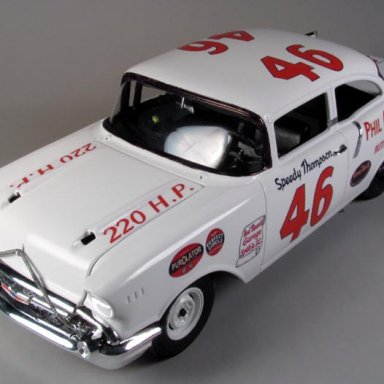 Speedy Thompson 1957 Southern 500 winner