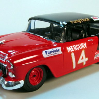 Fonty Flock 1955 Chevy, first win for Chevy