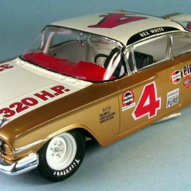 Rex White 1960 Chevy Championship car