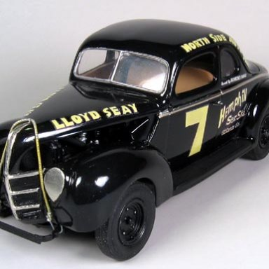 Lloyd Seay 1939 ford beach racer