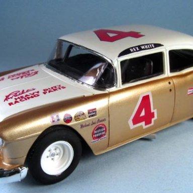"Rex White 1955 Chevy Sportsman ""Domination"" car"
