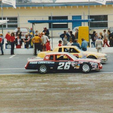 Brad Teague at Daytona