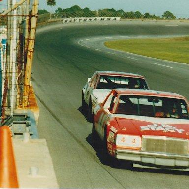 Terry and Neil at Daytona