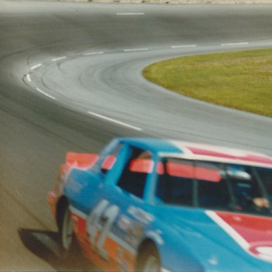 Kyle Petty at speed