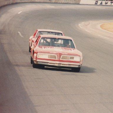 Tim Richmond at Daytona