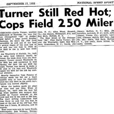SOLDIER FIELD..CHICAGO..1956