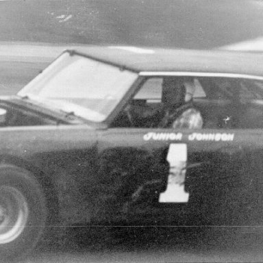 Junior Johnson at Hartsville Speedway in 1968