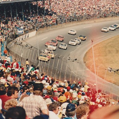 Earnhardt leads the pack