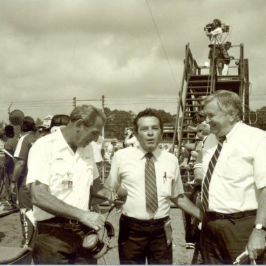 Ned Jarrett, Sammy Bland and Kenneth Campbell