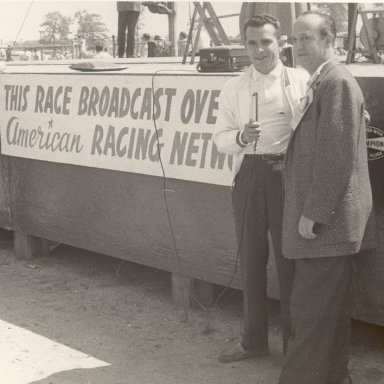 Sammy Bland at a Track in PA