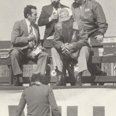 At RIR with Joe Moore and Ray Melton