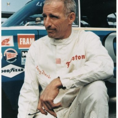 Larry Frank #76 - Nascar Legend and Pioneer