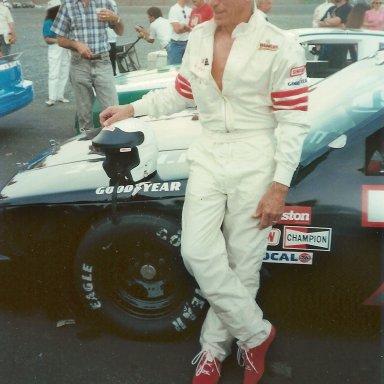 Larry Frank #76 - Nascar Legend & Pioneer