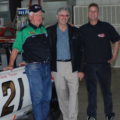 James Hylton, Glenn Wood and Len Wood