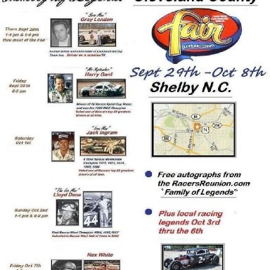 Shelby Fair Flyer