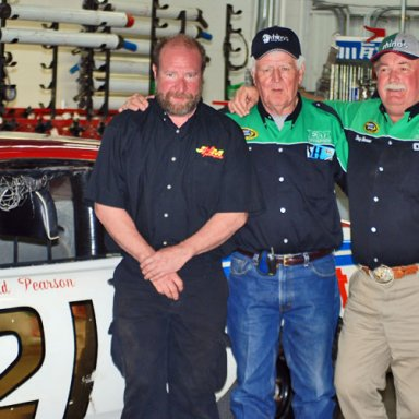 Jeff Droke, James Hylton and Doug Barron