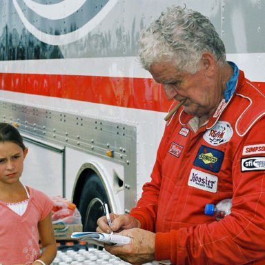 James Hylton and Fan
