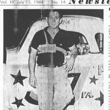 Butch Torrie Langley Speedway 1964 Feature Win