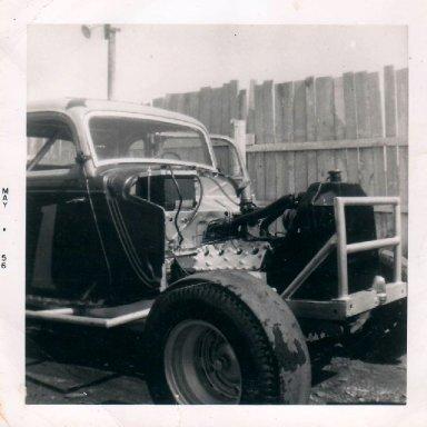Car #1Sanatoga pits 1956