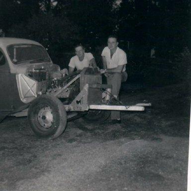 Car#1,Sam Myers, Charley Hanson