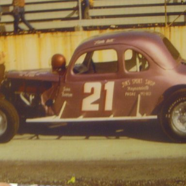 Lil Bill at Knoxville Raceway