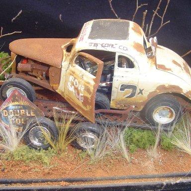 """""""rust in peace"""" tim bruner diorama"""
