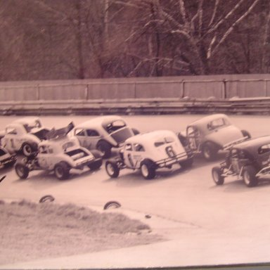 turn 3 at knoxville raceway,melvin corum collection