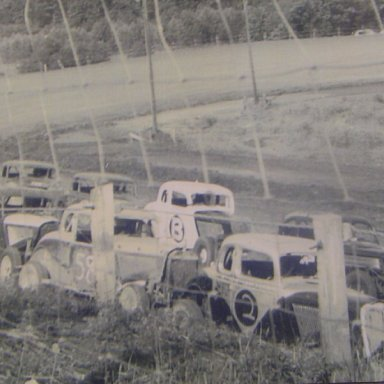 Broadway Speedway coupes. Melvin Corum collection