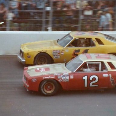 Bobby Allison Lennie Pond Dover 1974