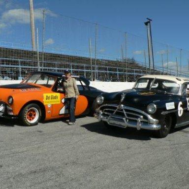 Dot Gladis, with 51' Stock Cars