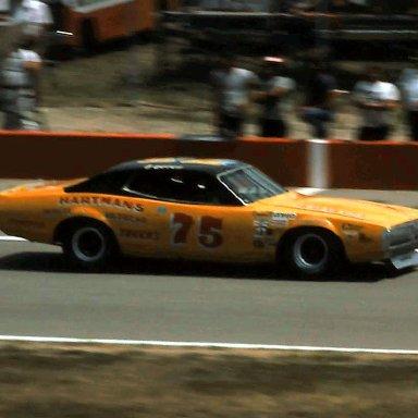 USAC #75 Butch Hartman 1976  Norton Twin 200 @ Michigan