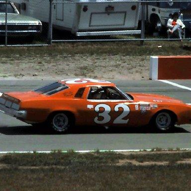 USAC #32 Glenn Gault   1976 Norton Twin 200 @ Michigan